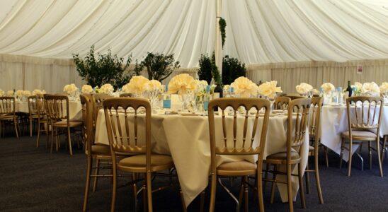 banquet de mariage